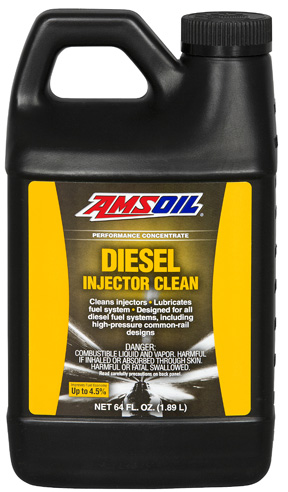 Amsoil diesel injector clean in half gallon size.