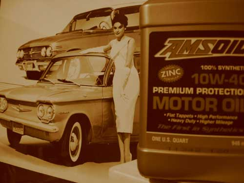 AMSOIL AMO also results in a smoother running engine. See for yourself!