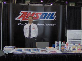 Amsoil dealer booth