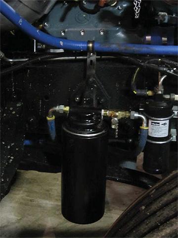 Amsoil heavy duty oil bypass filter kit BMK-30 installed