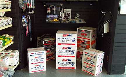 We keep quite the bypass filter kit inventory in our showroom and parts in the warehouse.