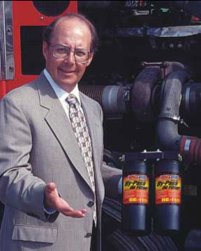 Amsoil's Technical Services Director Dave Anderson