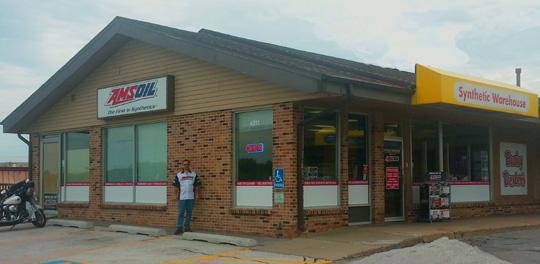 New Amsoil warehouse retailer in Omaha, NE
