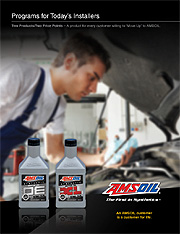 Programs Amsoil has for Installers