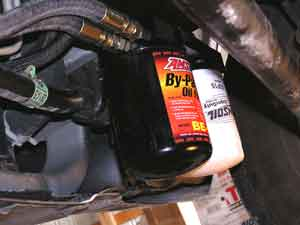 Drive more than 4000 miles per month? The bypass filter system eliminates oil changes.