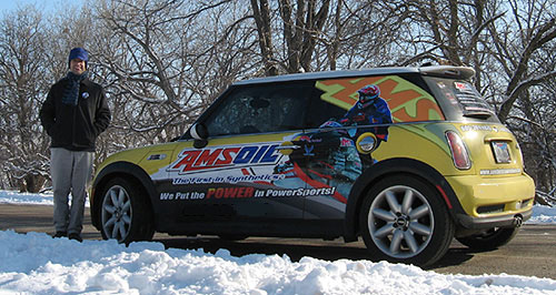 We're here in Maple Grove to St. Paul to get you the products no matter what the season. AMSOIL SERVICE!