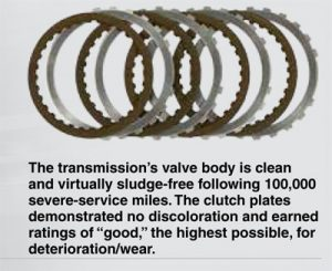 Amsoil provides for best results on transmission clutches
