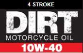 Dirtbike engine oil