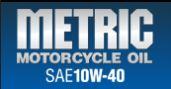 10w-40 metric motorcycle oil