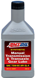 Manual Transmission & Transaxle Gear Lube 75W-90