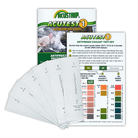 Antifreeze Test Strips