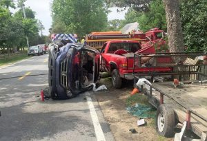 honda crv incident with trailer.