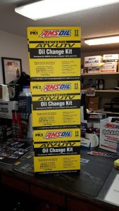 ATV customers find the Amsoil oil change kits a cinch