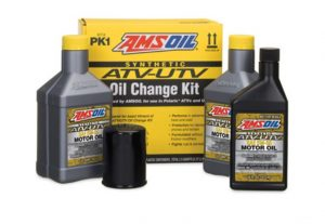 Amsoil atv and utv oil change kits