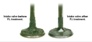 carbon removal intake valves before and after