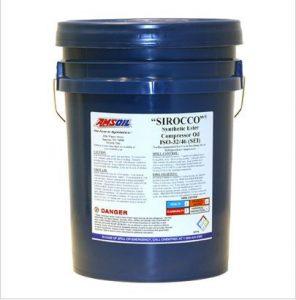 Amsoil Sirocco Compressor oil 5 gallon pail