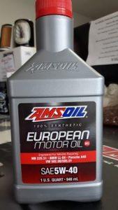 European synthetic motor oil Volkswagen