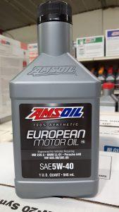 5W-40 Fill Saps European