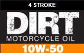 Dirtbike 10W-50 motor oil
