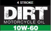 10W-60 dirtbike oil