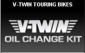 V-Twin Oil change kit for motorcycles