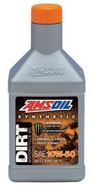 10W-50 Synthetic Dirt Bike Oil