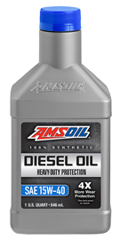 Heavy-Duty Synthetic Diesel Oil 15W-40