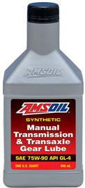 Manual Transmission & Transaxle Gear Lube 75W-90