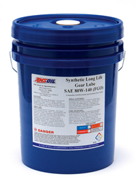 80W-140 Long Life Synthetic Gear Lube