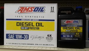 AMSOIL's newest addition to the diesel line - 10W-30 25,000 mile diesel