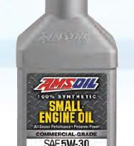 NEW 5W-30 VISCOSITY JOINS SYNTHETIC SMALL-ENGINE OIL FAMILY